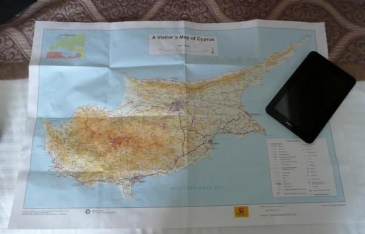Siinä se on, Kypros.