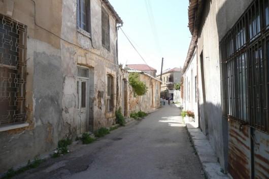 Nikosian vanha kaupunki, näkymä turkkilaiselta puolelta.