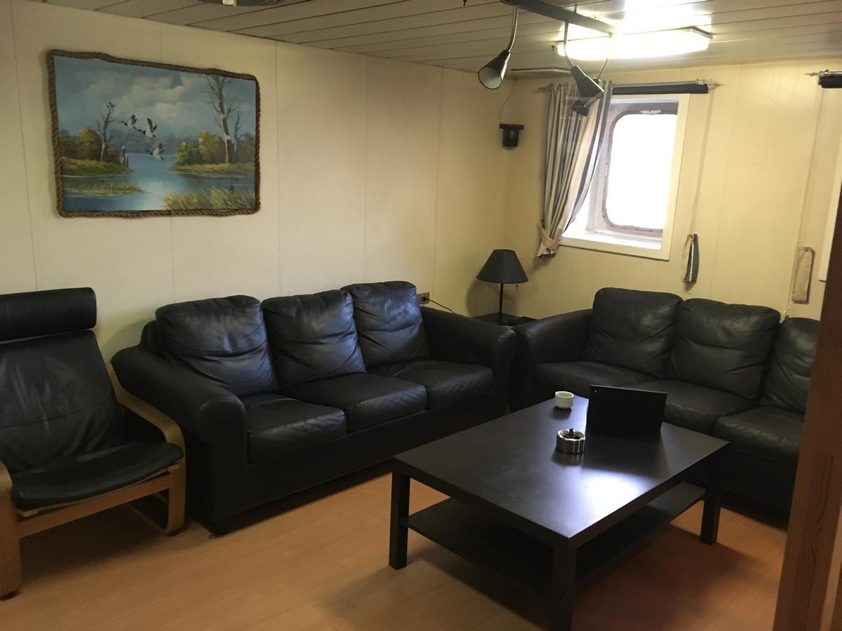 Rahtilaivaelämää – ensimmäiset päivät