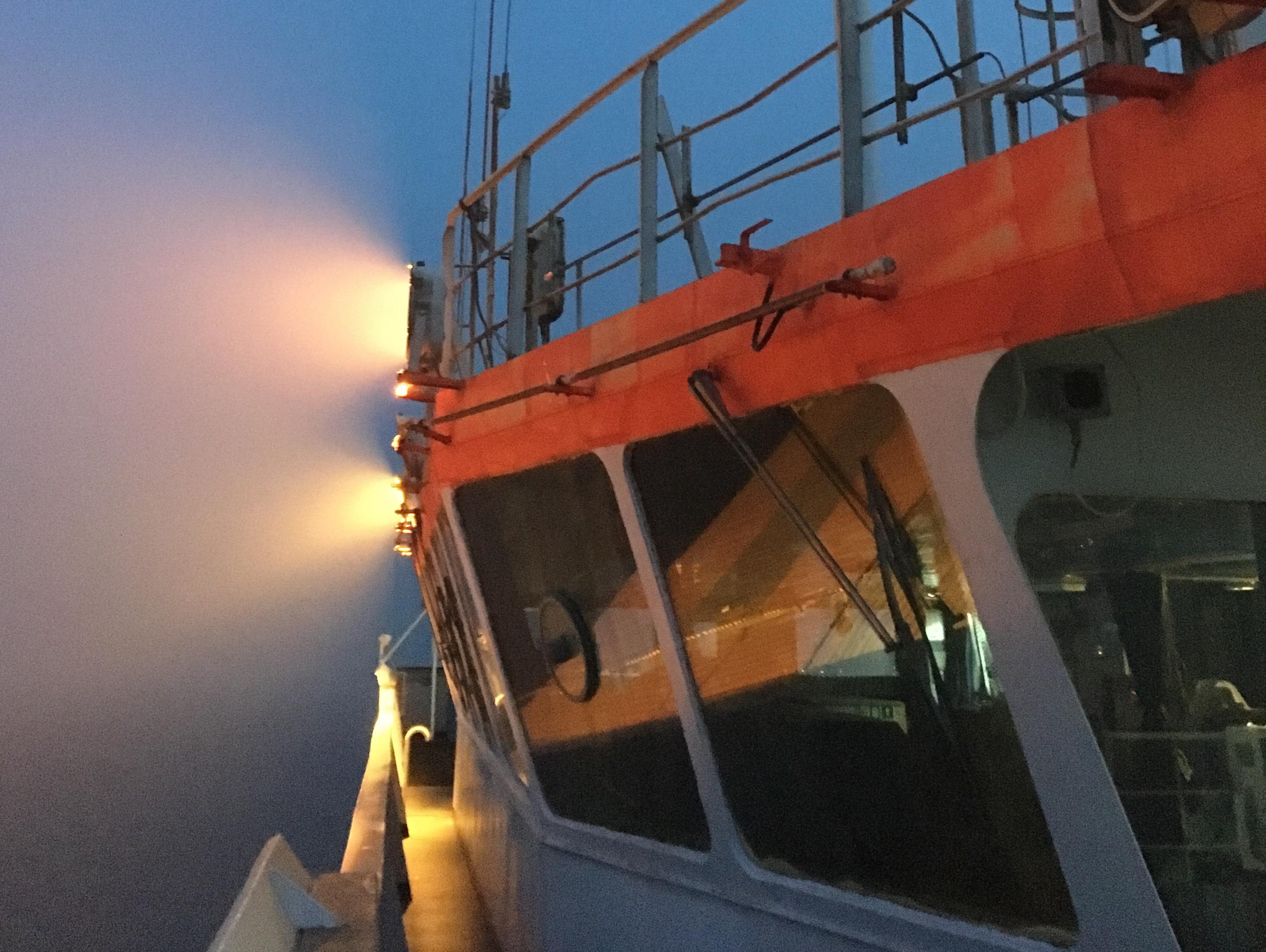 Merenkaynnista, merisairaudesta, ylimaaraisista matkustajista
