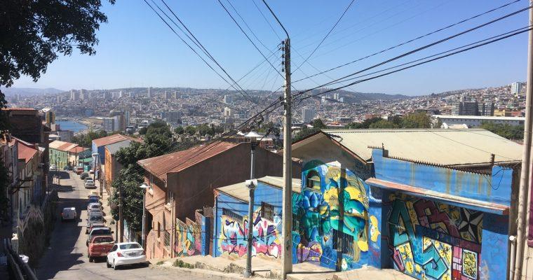Santiagosta ja Valparaisosta sekä jatkon reittisuunnitelmista