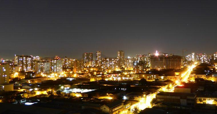 Helppo tie Santiago de Chileen, nopeusvalvontaa, halpaa polttoainetta ja hyviä huoltoasemia