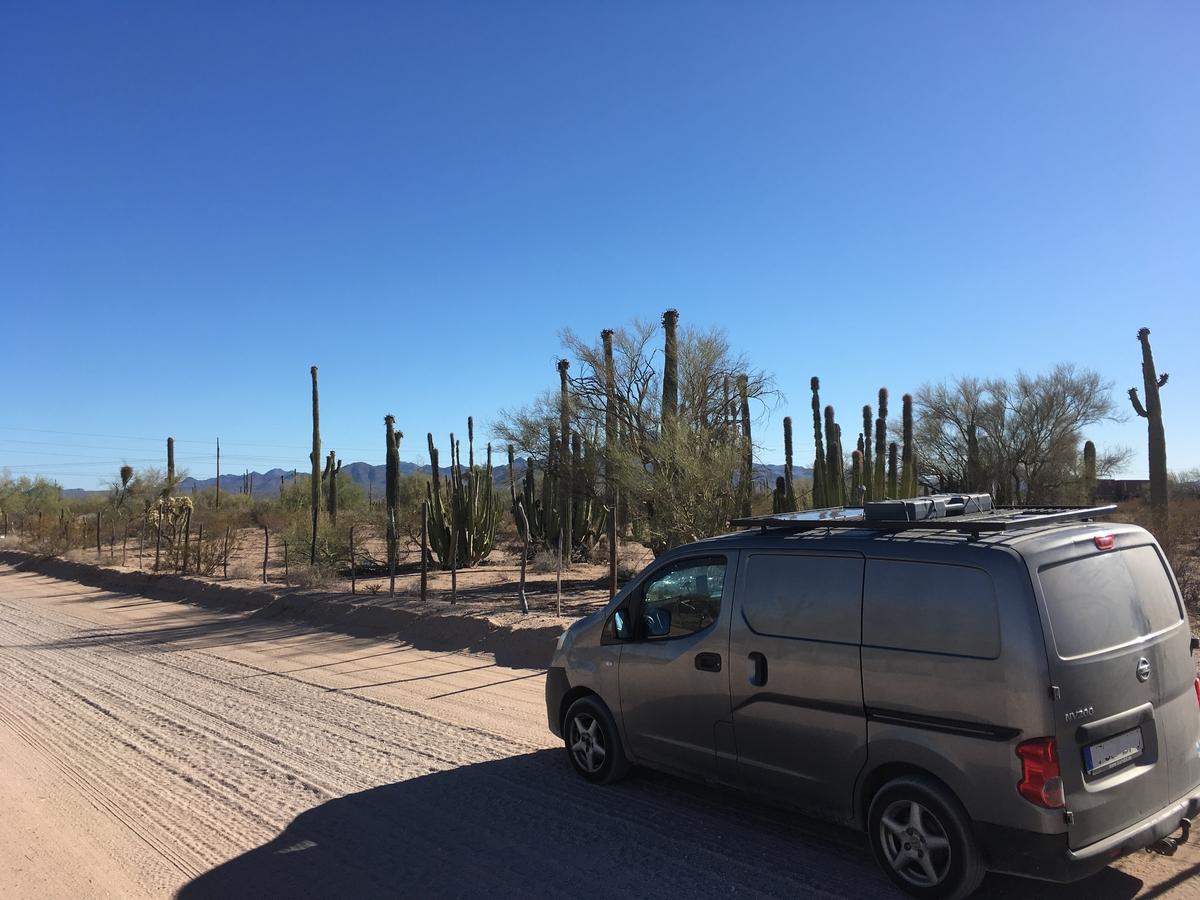 Edelleen Meksikoa – uusi tuulilasi ja jakosuunnitelmia