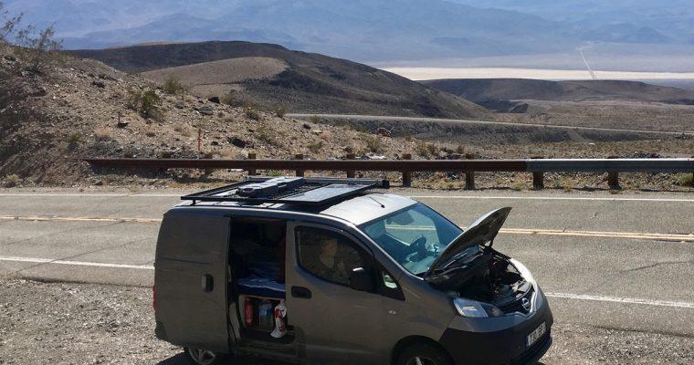 Death Valleyn helteestä Las Vegasin paahteeseen