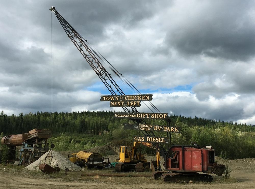 Auto-ongelmia Alaskassa