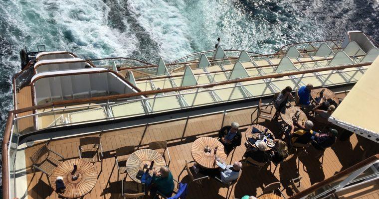 Celebrity Millenium – ensimmäiset laivapäivät