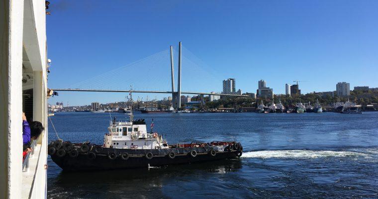 Laivamatka Japanista Venäjälle sekä autojuttuja Vladivostokista