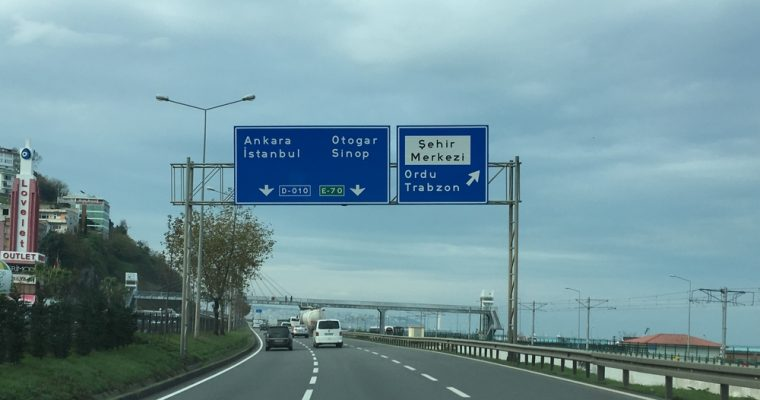 Vielä jokunen sana Georgiasta, rajan yli ja Turkkiin