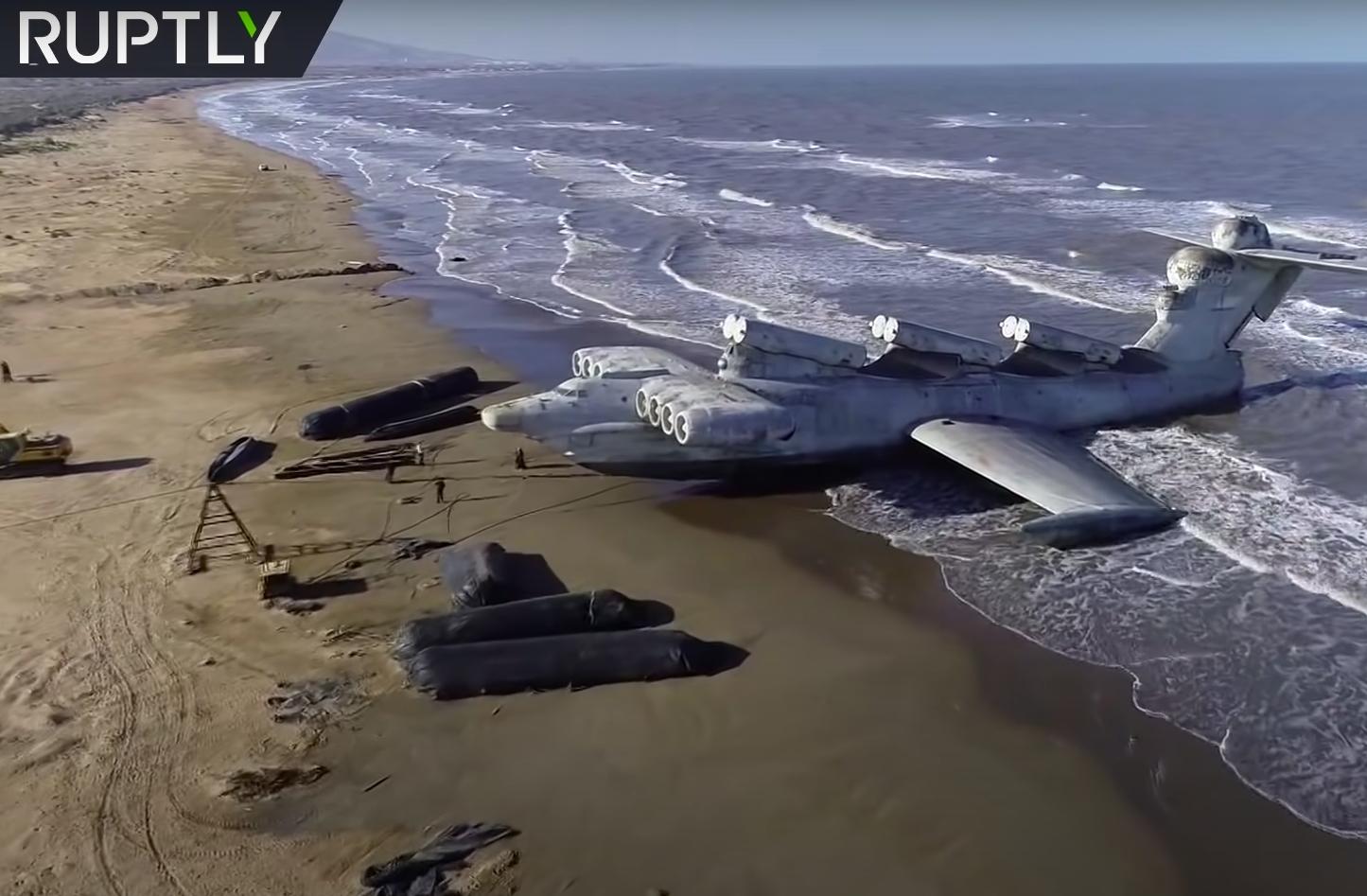 Näkemättä jääneitä idän ihmeitä – Kaspianmeren hirviö Ekranoplan
