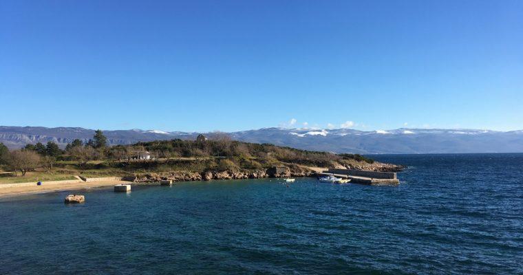 Saaret Krk ja Cres sekä paluu pohjoiseen
