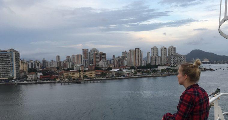 Alas Brasilian rannikkoa, kohti Argentiinaa