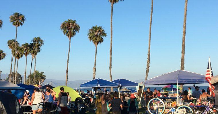Santa Barbaraa, auton ehostamista ja kulttuurishokkia