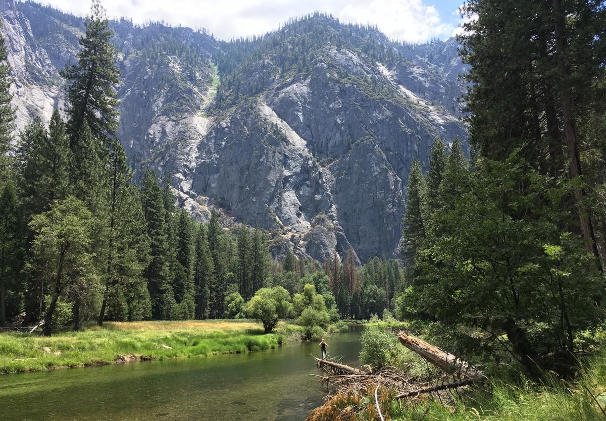 Yosemiten kansallispuisto, Piilaakso sekä jaarittelua Kalifornian asunnottomuudesta, kylteistä ja kielloista