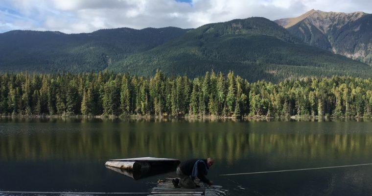 Kanadan Brittiläisessä Kolumbiassa, matkalla kohti etelää ja Vancouveria