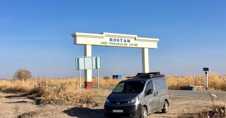 Uzbekistanin halki ja takaisin Kazakstaniin