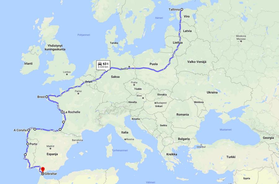 Uusia viivoja kartalla – Nissanilla Portugaliin?