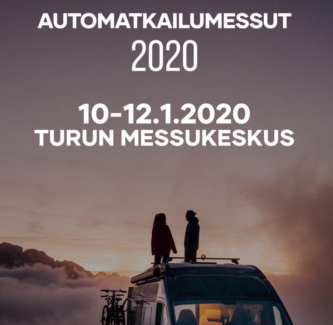 Muistutus: Automatkailumessut 2020 ensi viikonloppuna Turussa